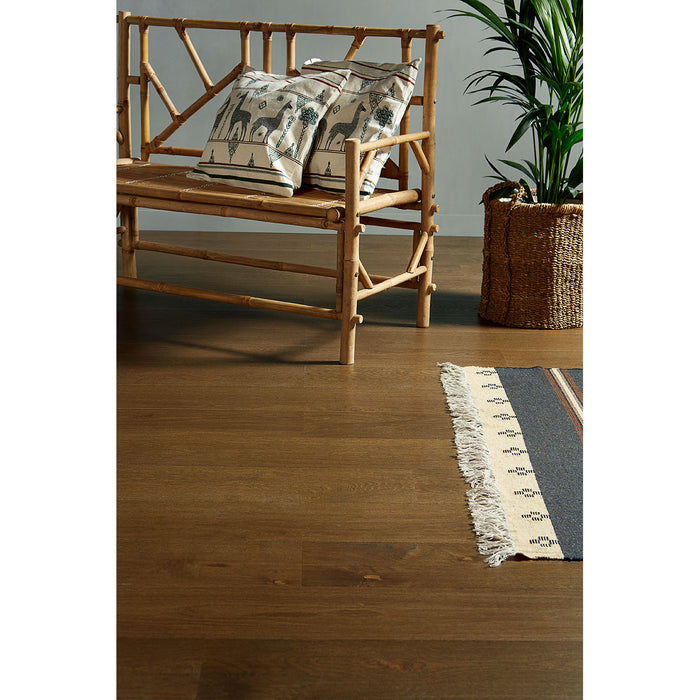 Radiant heating approved Caravel Engineered Hardwood with European Oak
