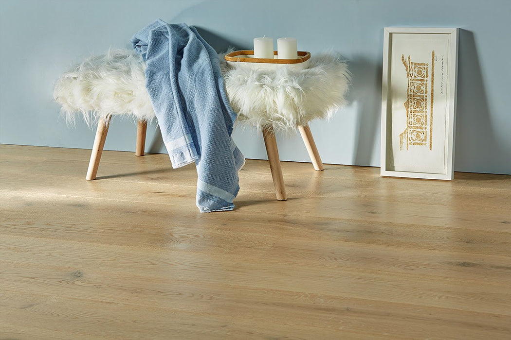 Crystal Thunder Character engineered hardwood with european white oak from Rivafloors