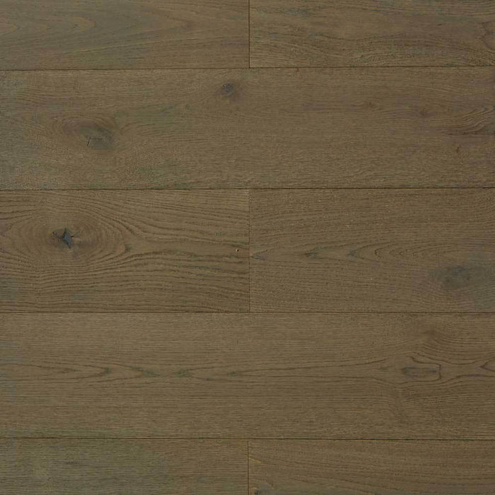 Gray Sapphire engineered hardwood from Rivafloors for residential and commercial floors