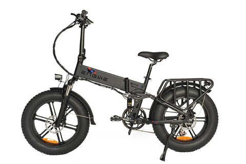 Lankeleisi X3000 - Fat Bike Electric Folding Bike Complete Suspension 20 Inches 1000W
