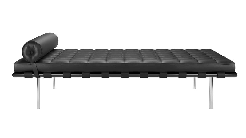 Barcelona daybed large with leather upholstery