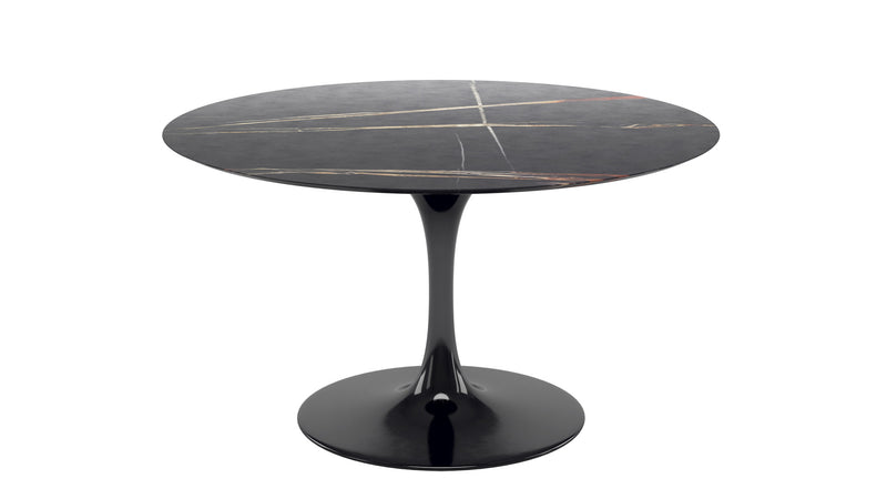 Tulip Coffee table with Sahara marble top