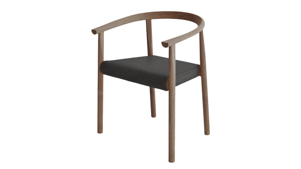Tokyo chair with wood frame