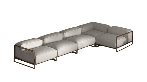 CASILDA Collection-Modular outdoor corner sofa 10