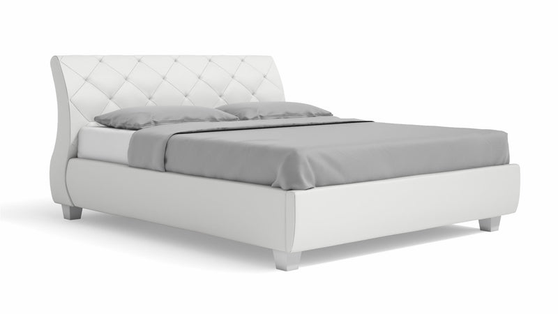 Lit CDI Collection Ares Bed White 3
