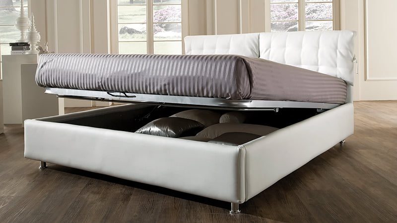 Lit CDI Collection Charlie Bed White 2