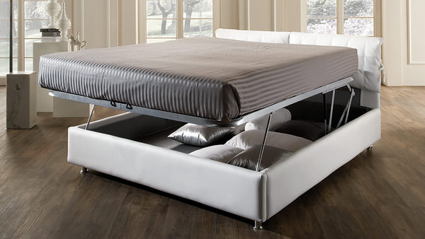 Lit CDI Collection Charlie Bed White 3