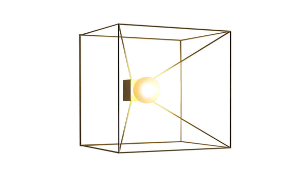 Lampe Applique CDI Collection Cubo Reflex Wall Lamp