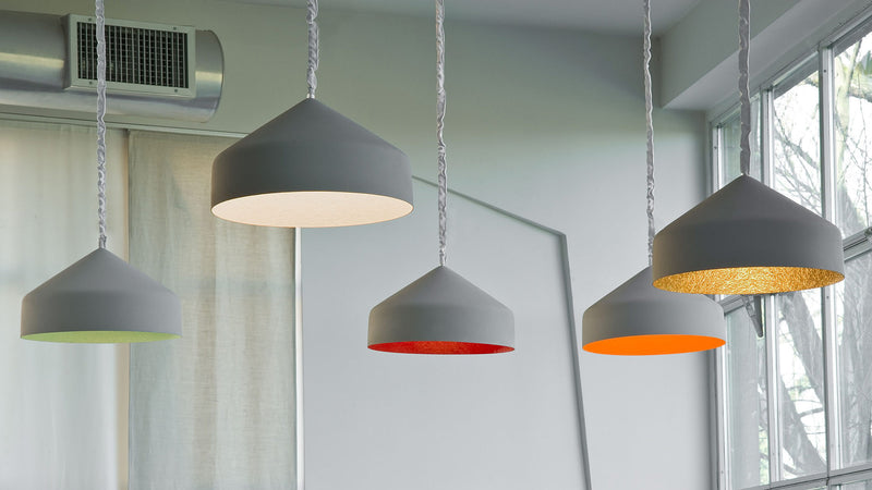 Lampe Suspension Cyrcus Cemento CDI Collection 2