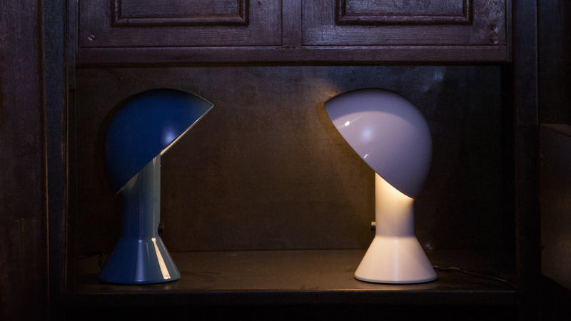 Lampe de Table Martinelli Luce Elmetto Blue 5