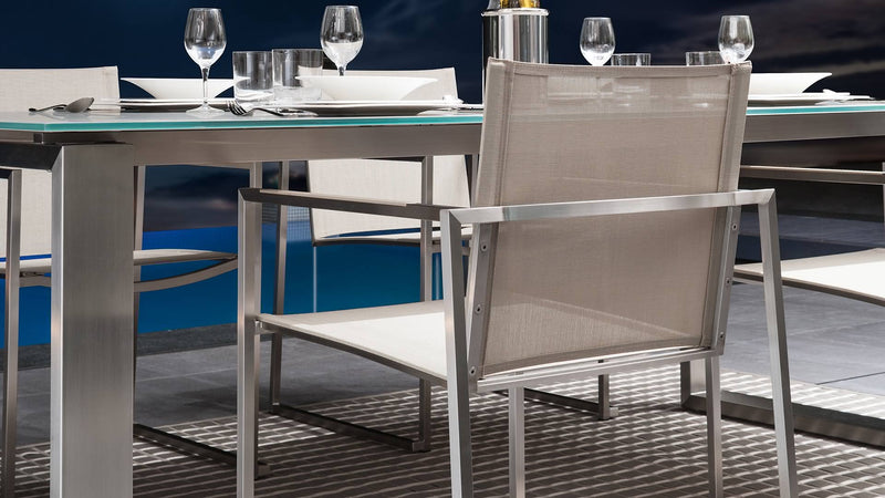Chaise essence inox Table essence inox 2