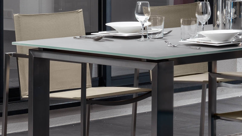 Chaise essence inox Table essence inox 1