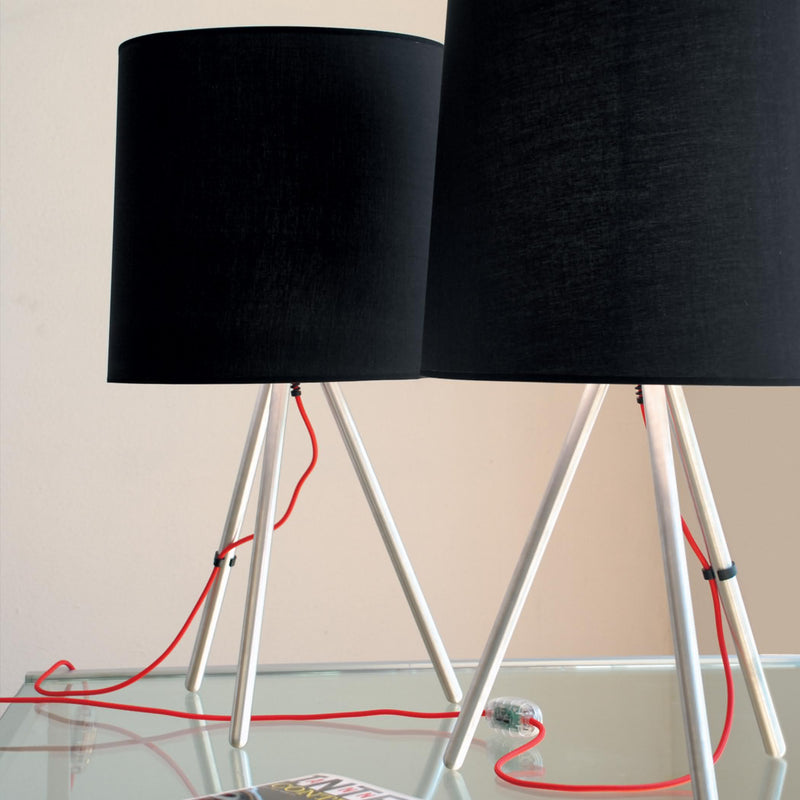 Lampe de Table Martinelli Luce Eva Black Table Lamp 3