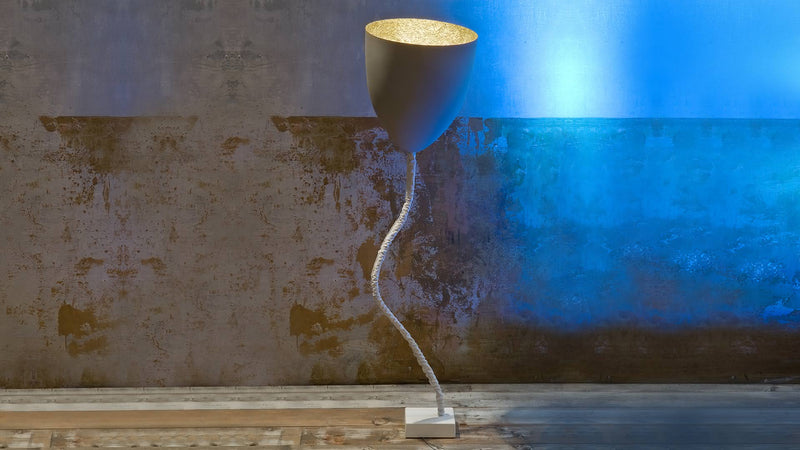 Lampe sur pied Flower Cemento CDI Collection 1