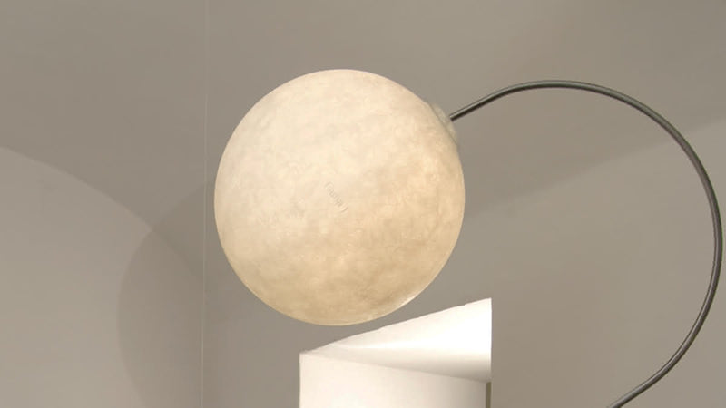 Lampe sur pied Luna Piantana CDI Collection 1
