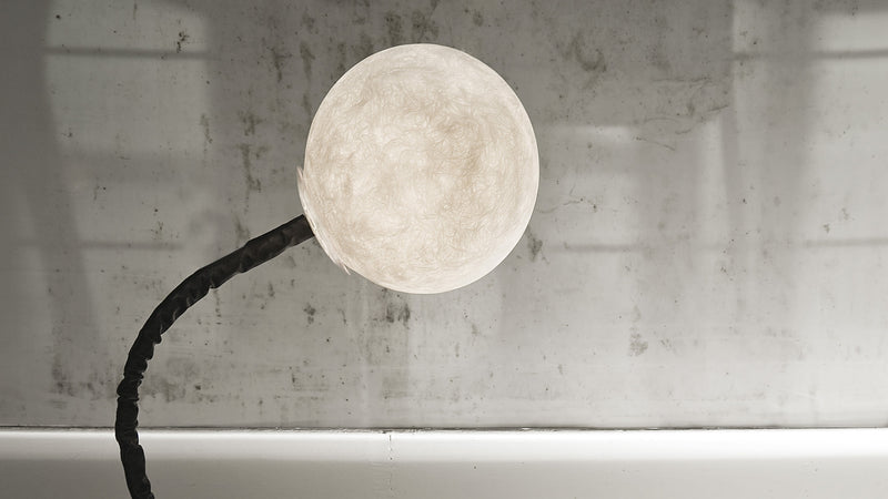 Lampe sur pied Micro Luna Piantana CDI Collection
