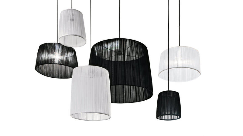 Lampe Suspension CDI Collection Organza Lamp
