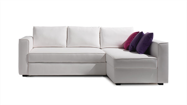 Convertible CDI Collection Plaza Sofa Bed White