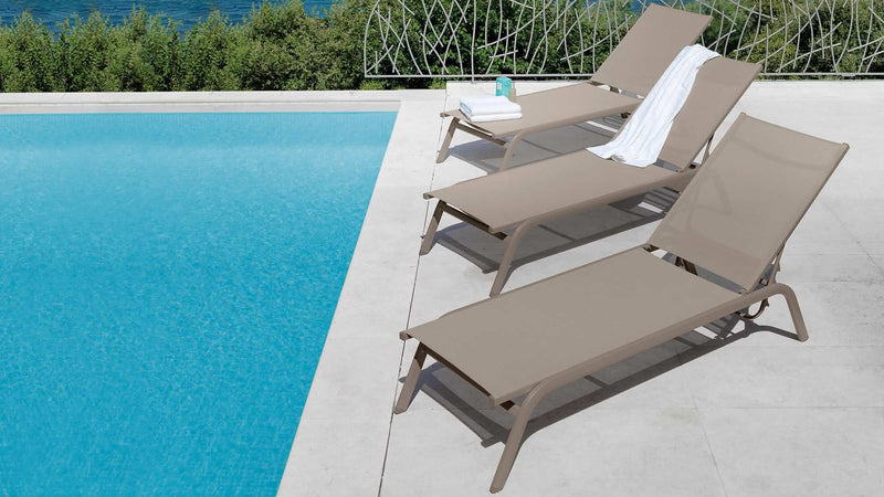 Lounger CDI Collection Step Sunbed 2