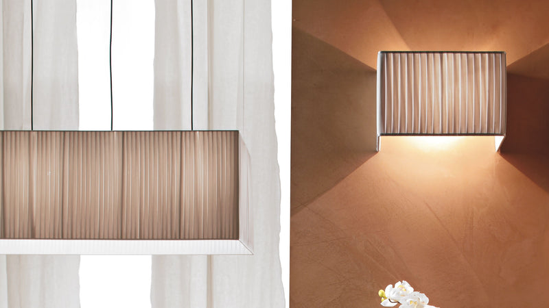 Lampe Applique CDI Collection Tao Plisse Wall Lamp 1