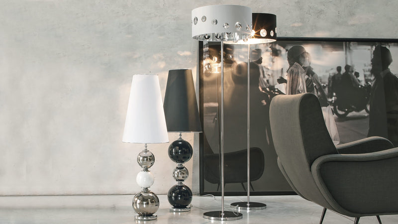 Lampe sur Pied CDI Collection Tiffany Floor Lamp