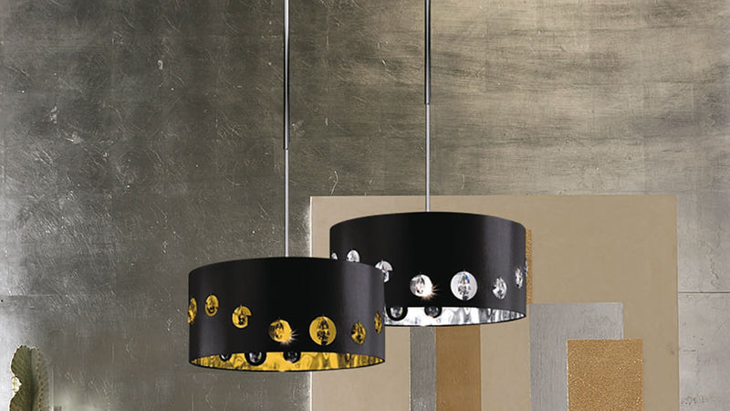 Lampe Suspension CDI Collection Tiffany Lamp