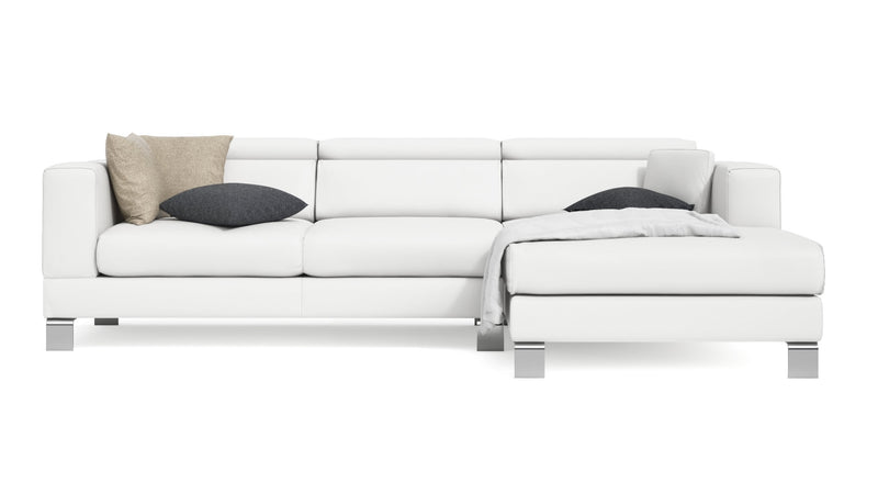 Canapé CDI Collection Mito Corner Sofa White