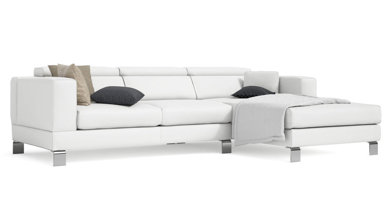 Canapé CDI Collection Mito Corner Sofa White 1