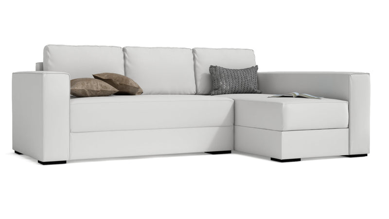 Convertible CDI Collection Plaza Sofa Bed White 1
