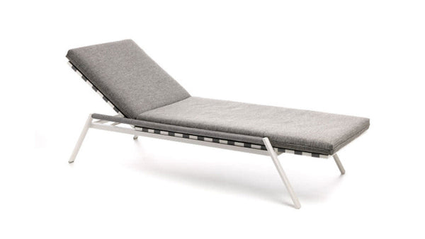 COTTAGE Collection-Chaise longue structure en aluminium de jardin 2