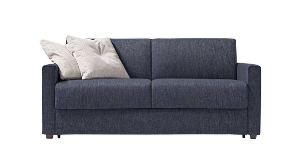 DALTON-MENO Sofa Bed 2 seater with metal base and double bed