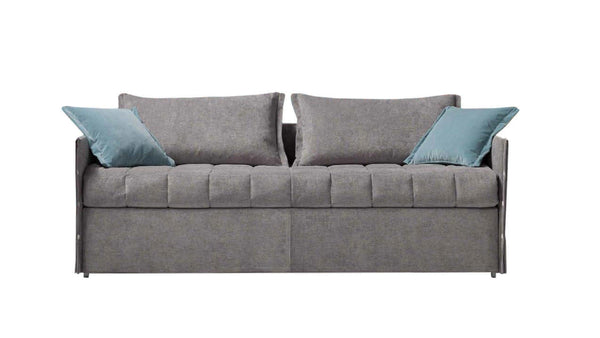 DENNY Sofa Bed 2 seater with metal base and single bed