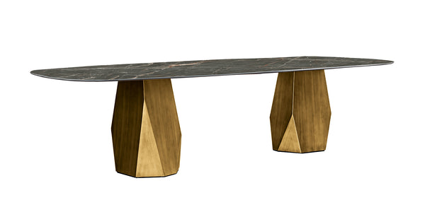 DEOD TABLE WITH TWO BASES