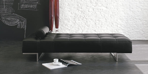 DREAMING Daybed in fabric or leather - Design made in italy