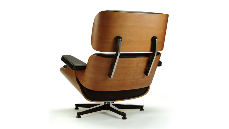 Lounge Chair with leather upholstery