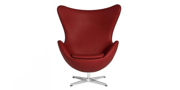 Egg chair in leather or fabric – Inspired by Arne Jacobsen