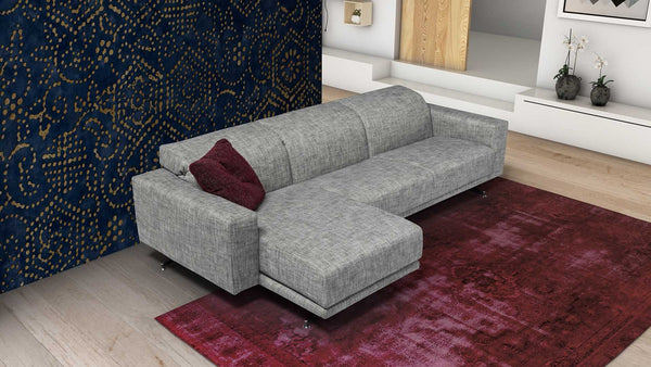 LIFE Modular corner sofa 4 seater customizable setup 6