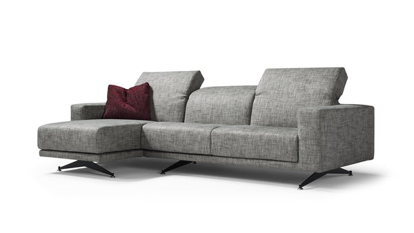 LIFE Modular corner sofa 4 seater customizable setup 5