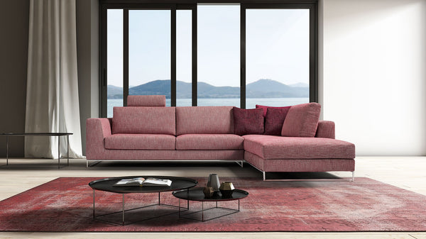 LOMAN Modular corner sofa setup customizable 3