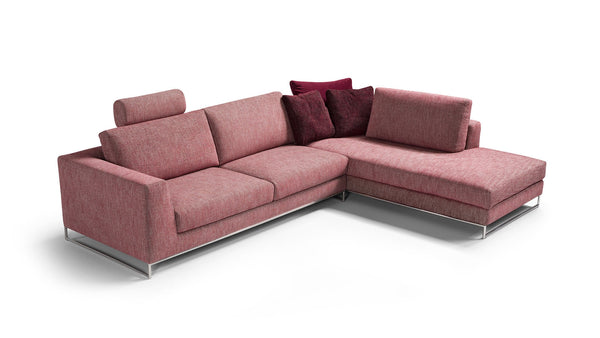 LOMAN Modular corner sofa setup customizable 2