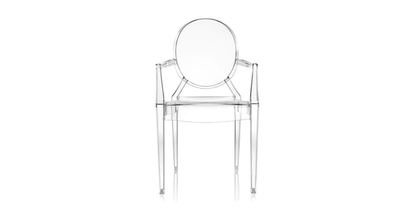 SET 2 Louis Ghost Small Armchair