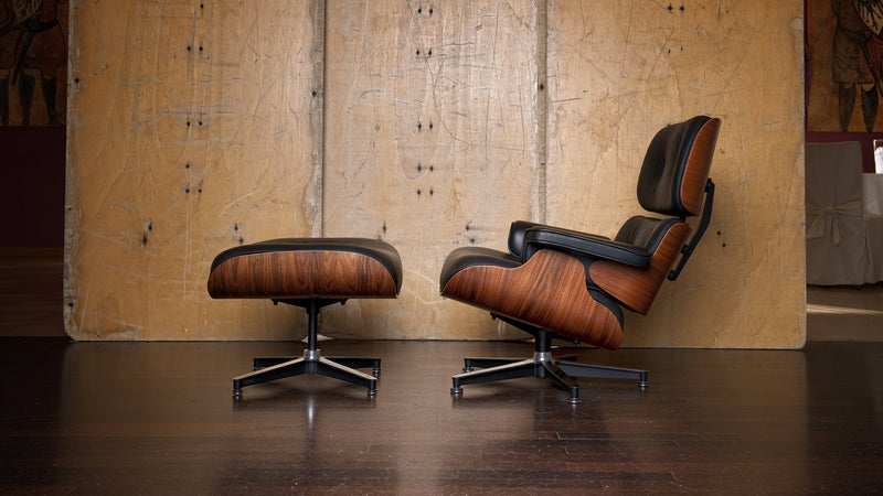 Set Eames Lounge Chair Ottoman 1