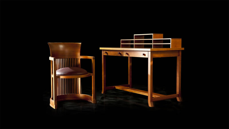 Frank Lloyd Wright Meyer May Desk FLW108 2