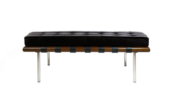 Mies van der Rohe Barcelona Bench 2 Seater MVR28