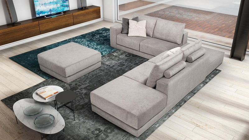 MONET Modular corner sofa 4 seater customizable configuration 3