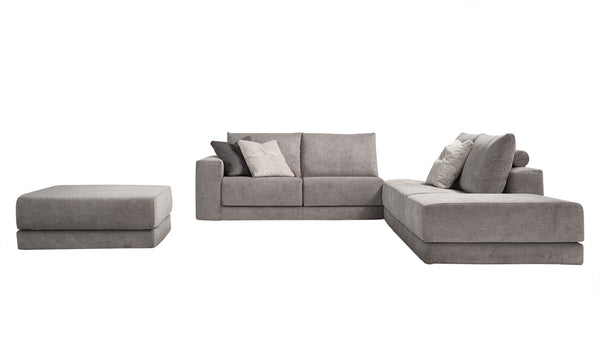 MONET Modular corner sofa 4 seater customizable configuration