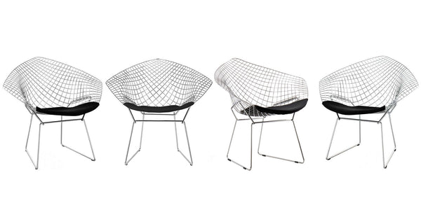 Set 4 Diamond Armchair 1