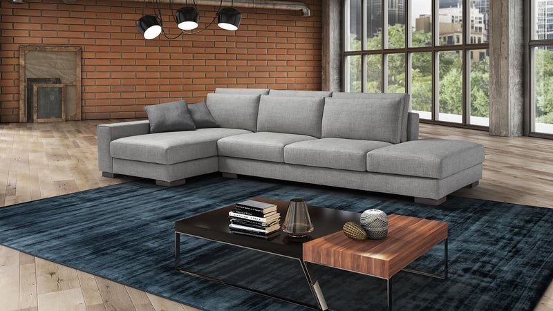 SHADE Modular corner sofa 4 seater customizable 3