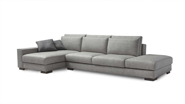 SHADE Modular corner sofa 4 seater customizable 2