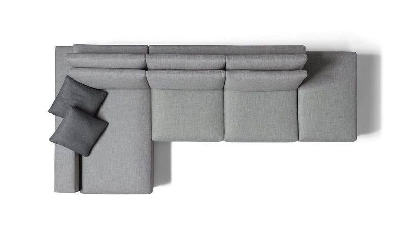 SHADE Modular corner sofa 4 seater customizable